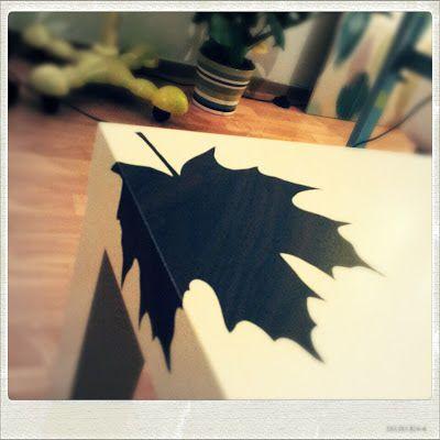 DIY IKEA Lack table hack with adhesive foil, wood look    IKEA Lack mit Holzfolie aufgehübscht   Lack muss nicht immer langweilig sein. Mit ein paar wenigen Handgriffen gestaltest du ein persönliches Möbelstück
