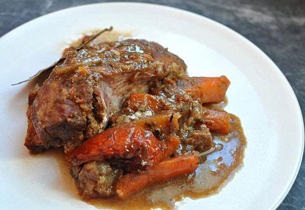 Slow Cooker Lamb Leg Recipe - Honey Sauce Lamb Recipe