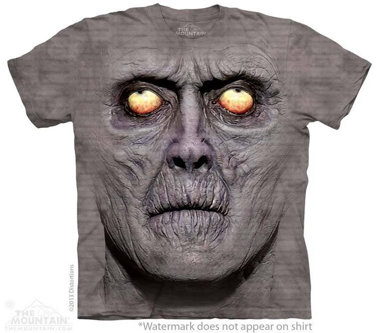 Zombie Portrait T-Shirt - Alien T-Shirts - tees - green t-shirts - funnny tshirts - fantasy t-shirts - scary t-shirts - zombie t-shirts - death t-shirts - gift ideas for christmas - ideas for christmas - unicorn t-shirts - robot t-shirts - epic t-shirts