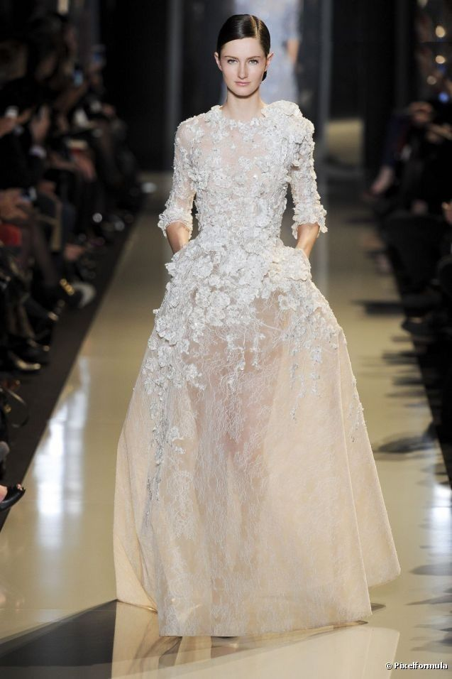 91 best images about Haute Couture Wedding Dresses on Pinterest ...