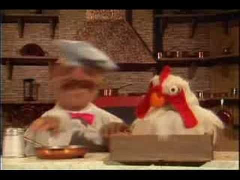Muppet Show. Swedish Chef - Ping Pong Ball Eggs (ep.214)