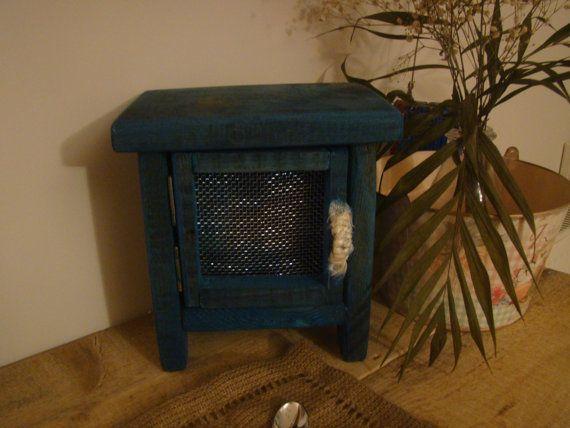 handmade wood  decor box by demetradaskoupo on Etsy