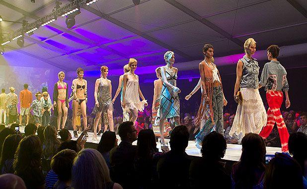 Fashion Week El Paseo, Palm Desert.  El Paseo Runway