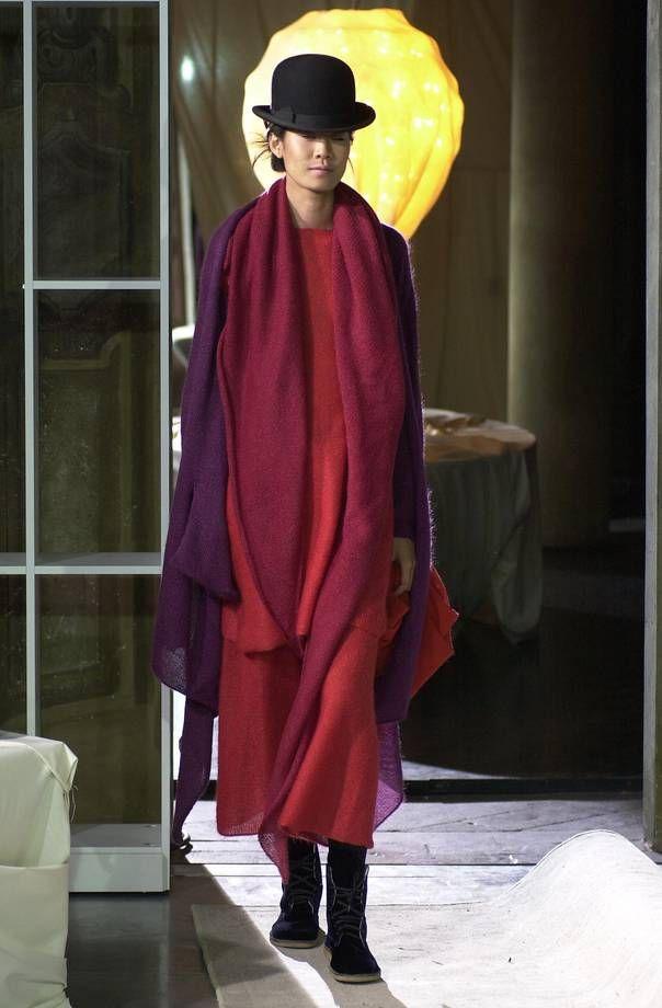 abito-corallo-sciarpa-cardigan-viola.jpeg (604×920)