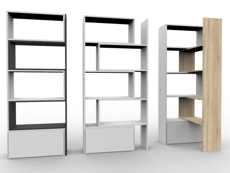 PACO kolekcja oryginalnych i designerskich regałów