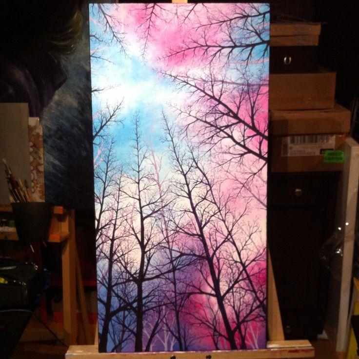 Tree Painting 1 -By Lunnie on DeviantART https://www.instagram.com/moobrains/