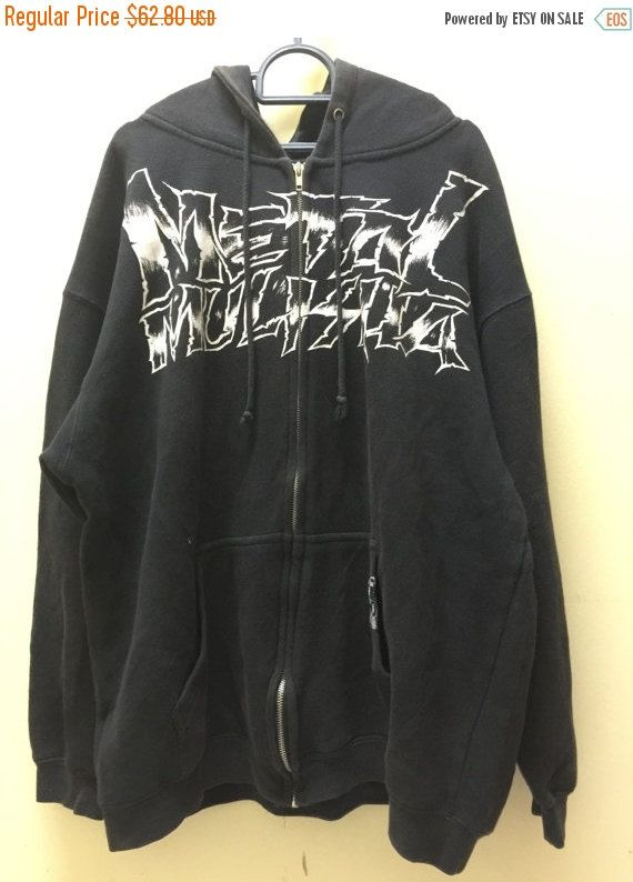 SALE 30% Metal Mulisha Mens Hoodie Medium Metal Mulisha American Lifestyle Clothing Metal Mulisha Sweatshirt Size M by MudeanDean