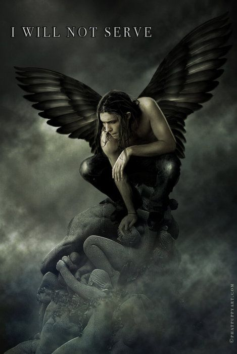 """So. You're a fallen angel."" She folded her arms. ""I'm not fallen,"" he said roughly. ""Then what are you?"" He shrugged. ""Busted."" ― Vicki Pettersson, The Taken"