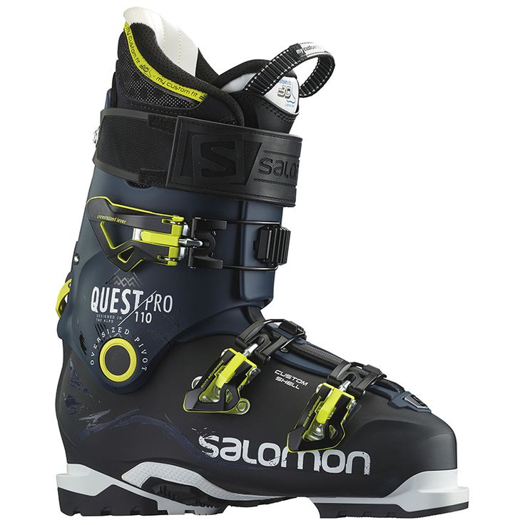 The Quest Pro 110 is a light weight, completely customizable AT ski boot that's designed to support aggressive backcountry enthusiasts. The 110 flex rating is great for skiers who want a slightly softer flexing boot than the full on Quest Pro 130. The boots offer great range of motion when in walk mode and they really shine when you lock them back in ski mode delivering top notch downhill performance for an AT setup. Now get out there and start charging some lines in the BC!