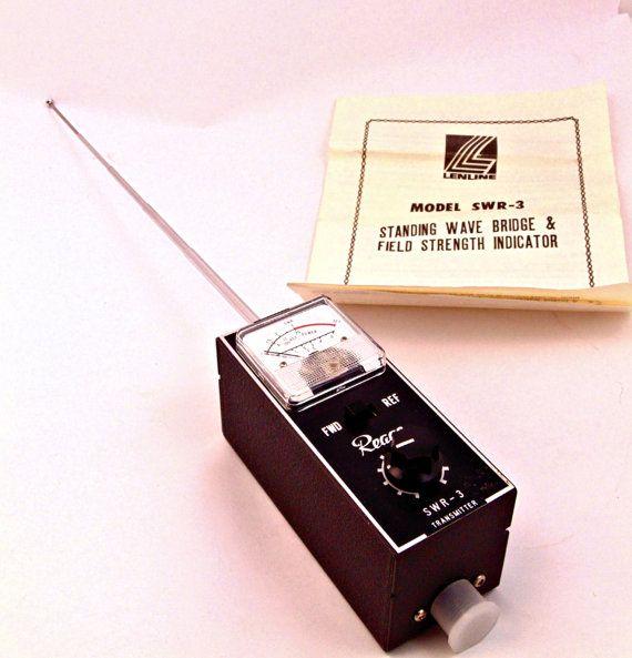 Vintage Lenline Standing Wave Ratio & Field by Utopiantiques, $29.99