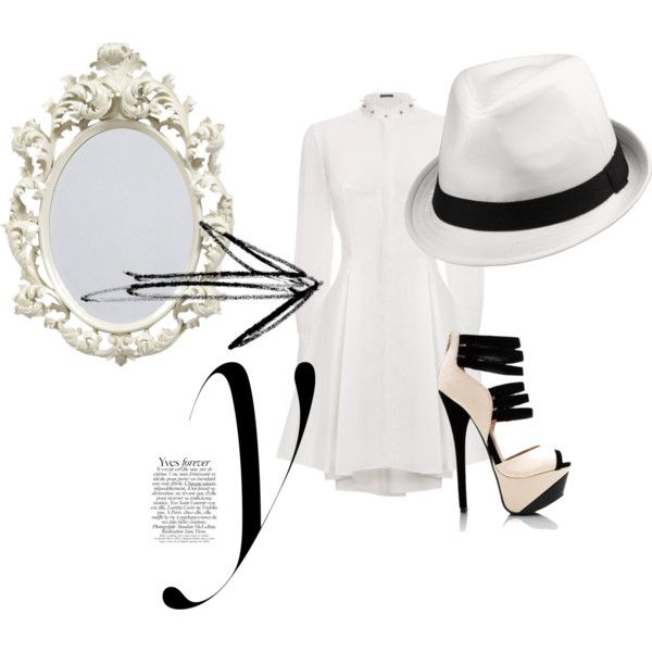 """Lady Whity"" by methecoolhunter on Polyvore"