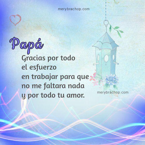 Gracias Papa Imagen Agradecimiento Jpg 600 600 Words Quotes Poster