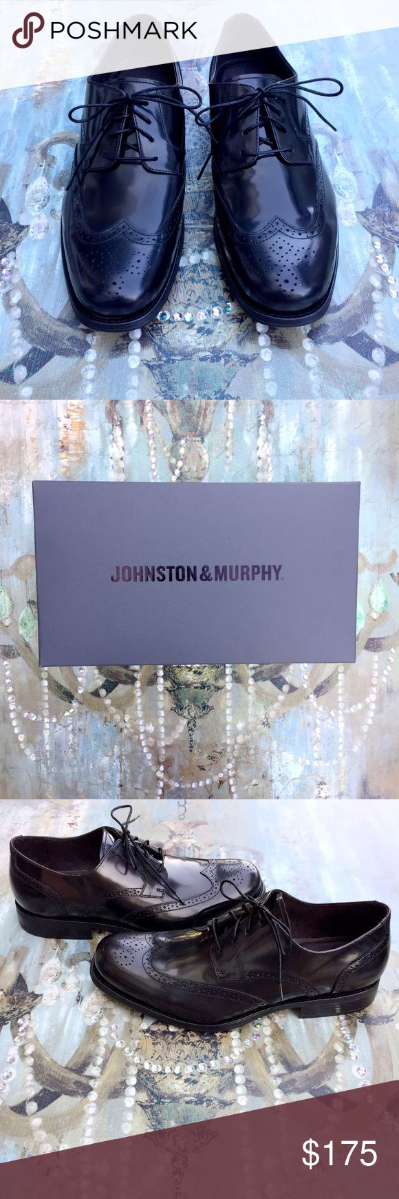 💐🐣EASTER SALE🐥💐 Johnston & Murphy Shoes These Johnston & Murphy shoes are Brand New, Never Been Worn, and come with the box and everything! They are a size 11 and are in Perfect Condition!💕 Johnston & Murphy Shoes