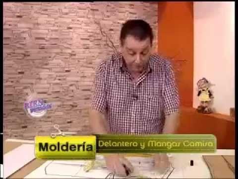 Explica en MOLDES un DELANTERO  y MANGA DE CAMISA  Hermenegildo Zampar - Bienvenidas TV - Explica en moldería un Delantero ...
