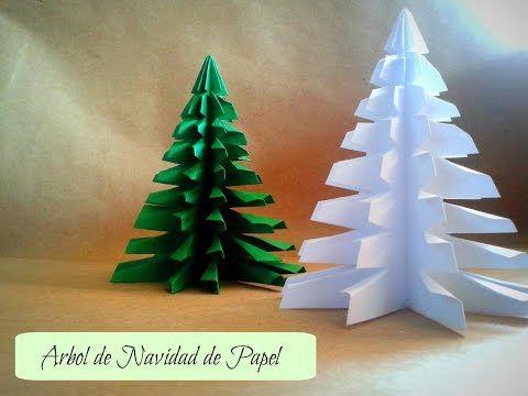 Árbol de Navidad - Manualidades | Ani Crafts - YouTube