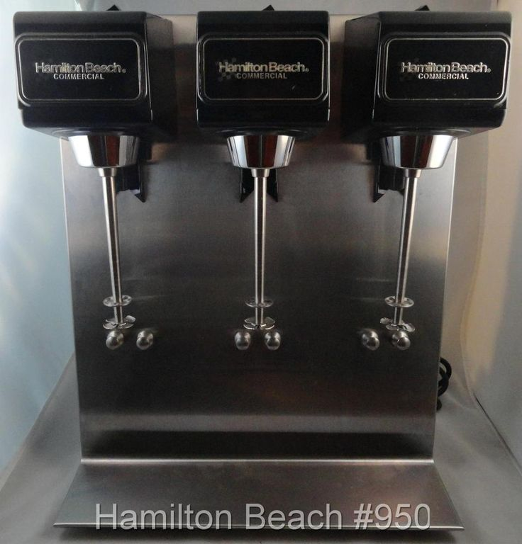 hamilton commercial milkshake machine