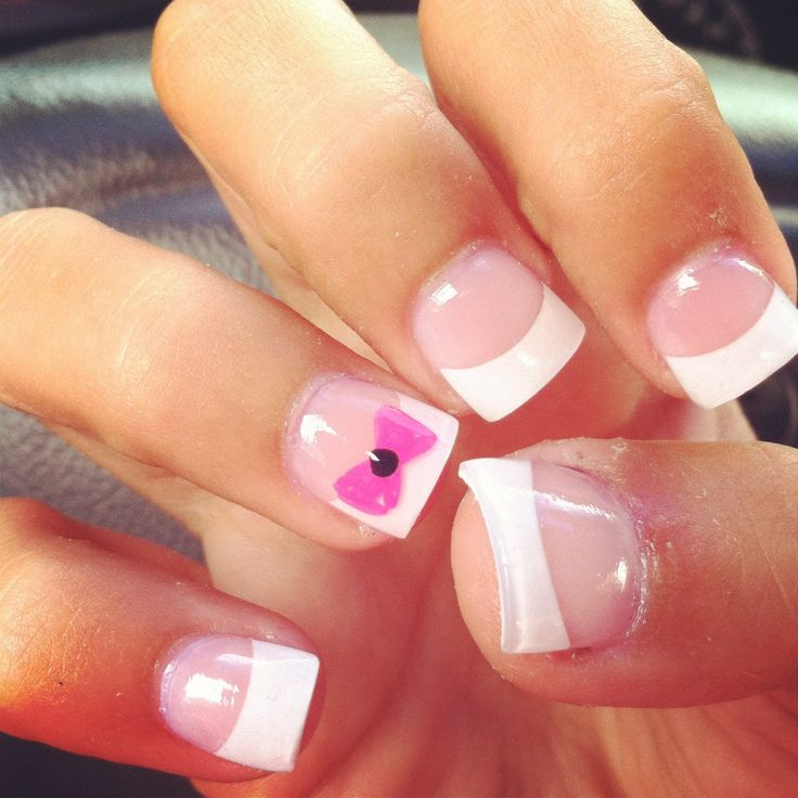 Acrylic Nails French: 25+ Best Ideas About White Tip Acrylic Nails On Pinterest