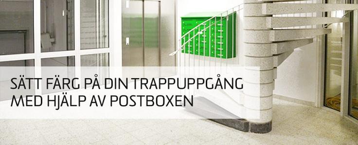 Skaffa dig förvaring och #postboxar via #DinBox.se