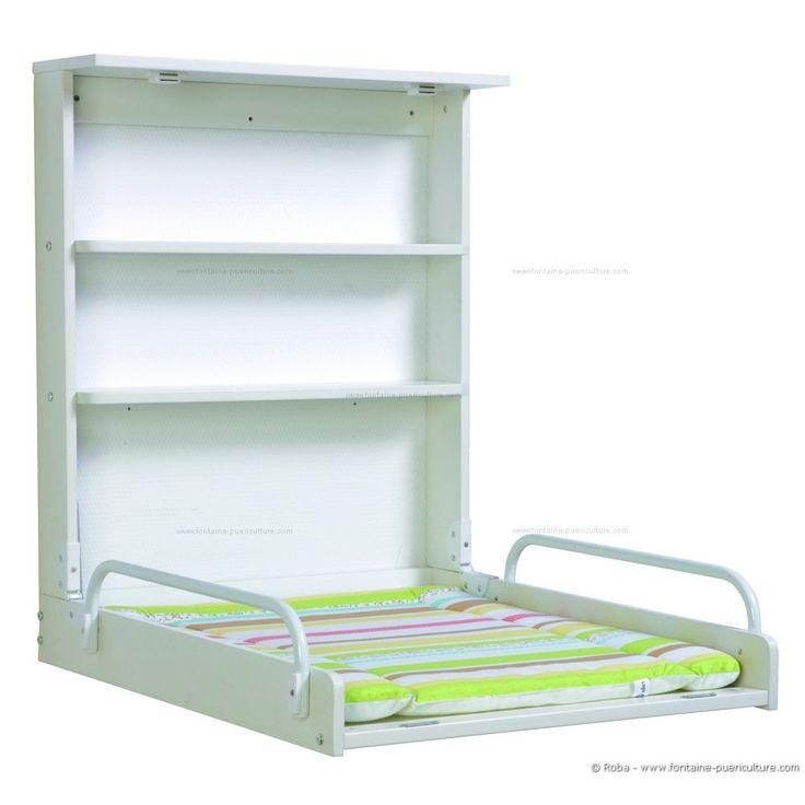 table langer murale roba blanche compacte pratique jolie offre spciale en stock livraison rapide autres modles disponibles - Table A Langer Pratique