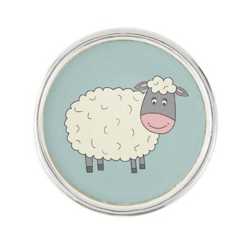 Baa Baa Sheep Pin