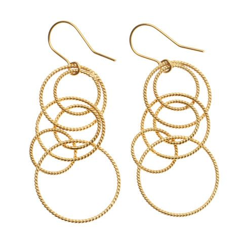 Twisted Earring - gold