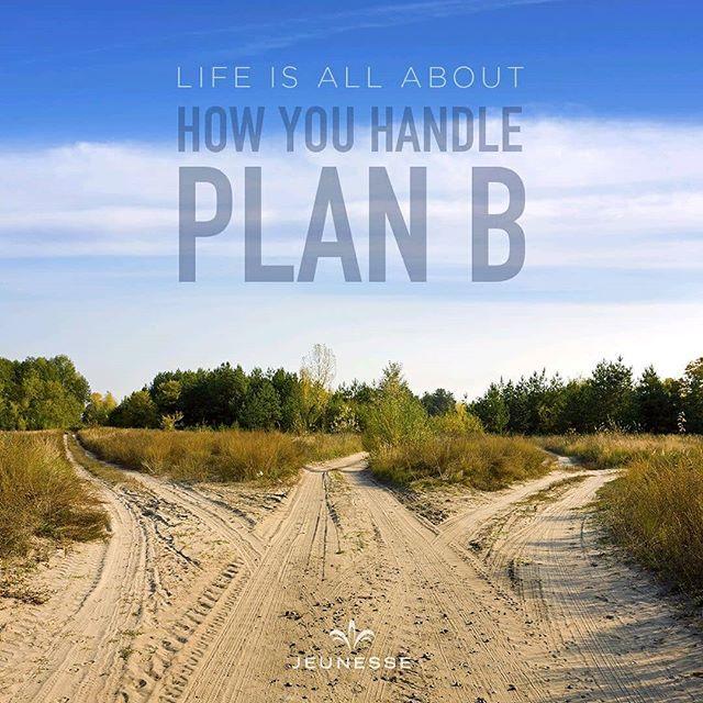 Jika rencana A gagal silahkan manfaatkan rencana B sambil mencari solusi bagaimana menyelesaikan rencana A sebelumnya