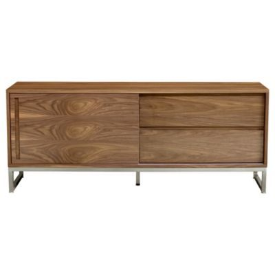 "Annex Media Stand by Gus Modern  $1695 retail; Overall: 24"" h x 60"" w x 18"" d"