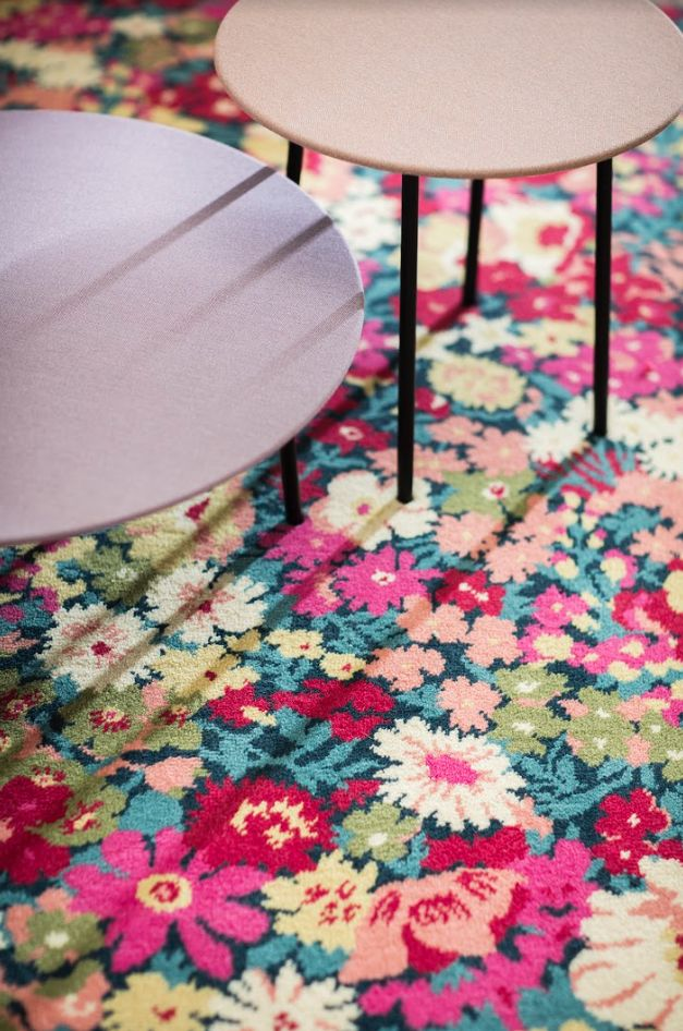 Alternative Flooring With Liberty Fabrics Quirky B Flowers Of Thorpe