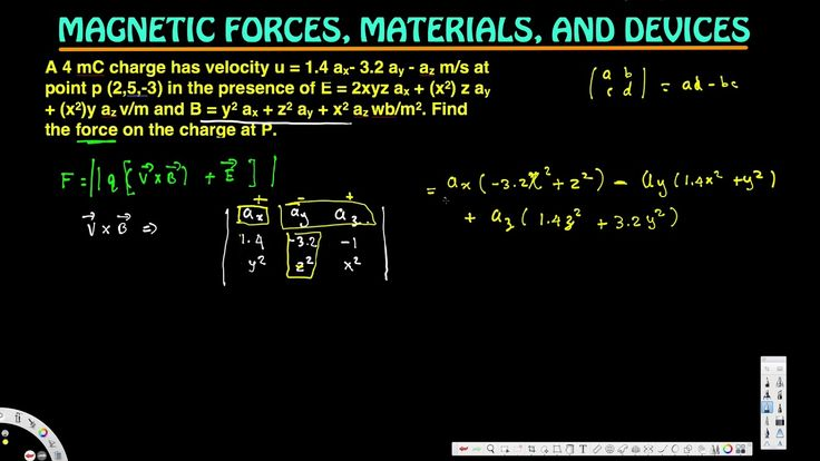 Find the force on the charge at P - Magnetic Forces, Materials, and Devi...