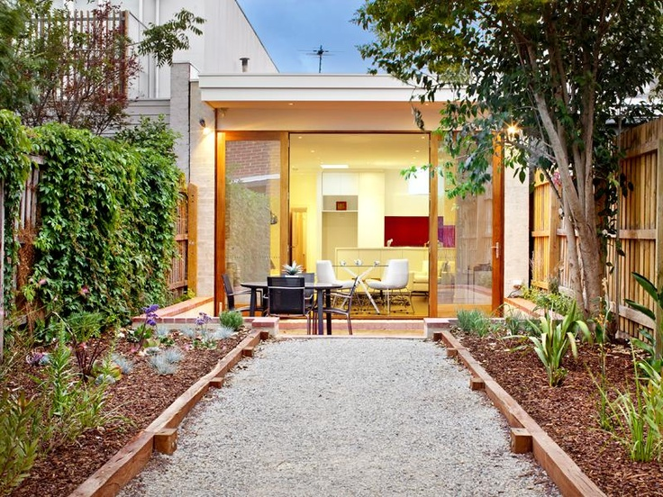 Beautiful small space courtyard   Nelson Alexander Real Estate    Melbourne, Australia      38 Bennett Street FITZROY NORTH