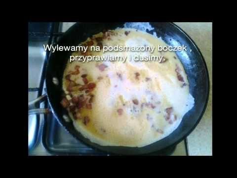 Nowoczesna jajecznica z boczkiem i serem.Speedcook - YouTube