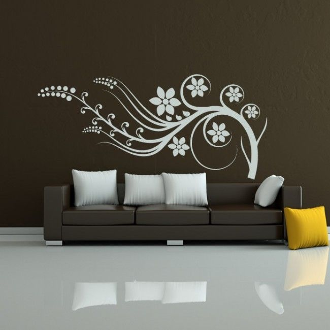 Landscape,Perky Floral Branch Wall Art Stickers Wall Decal Design Ideas In  Fascinating Look,Picturesque Branch Wall Decals Design Pictures