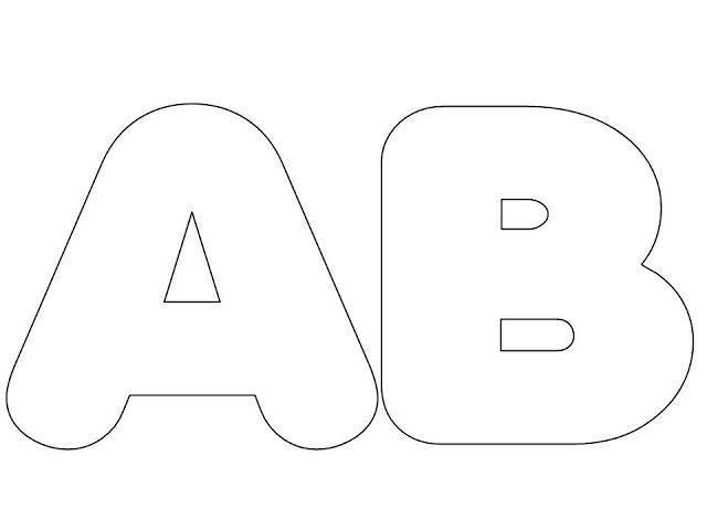 Letras do alfabeto grande