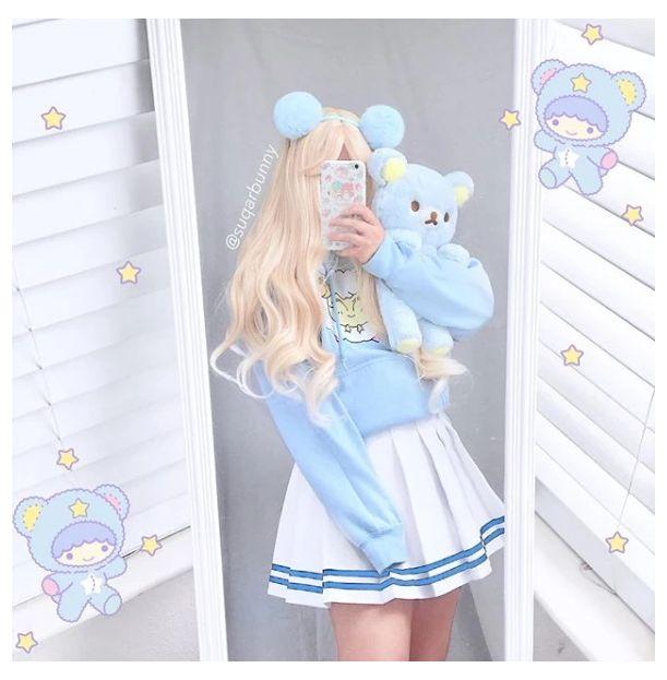 Tokyo Fashion, Harajuku Fashion, Kawaii Fashion, Lolita Fashion, Cute Fashion, Fashion Styles, Fashion Fashion, Anime Outfits, Mode Outfits