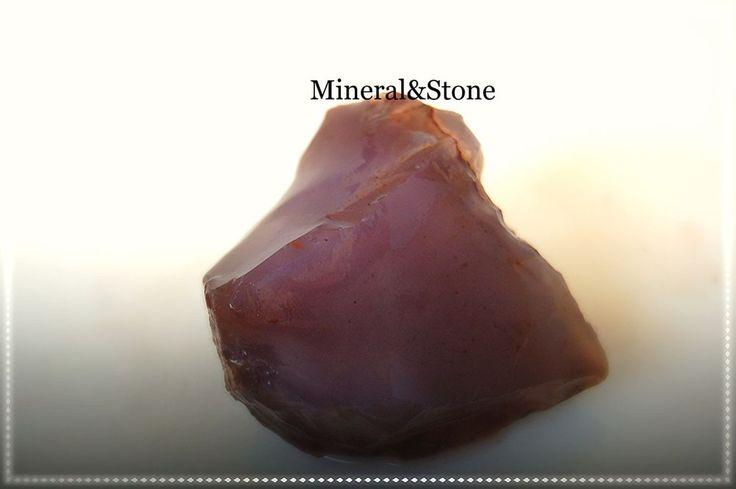 Anatolia Chalcedony Purple-Lavender Color Natural Rough 66 GRAM FROM / TURKEY #MineralStone