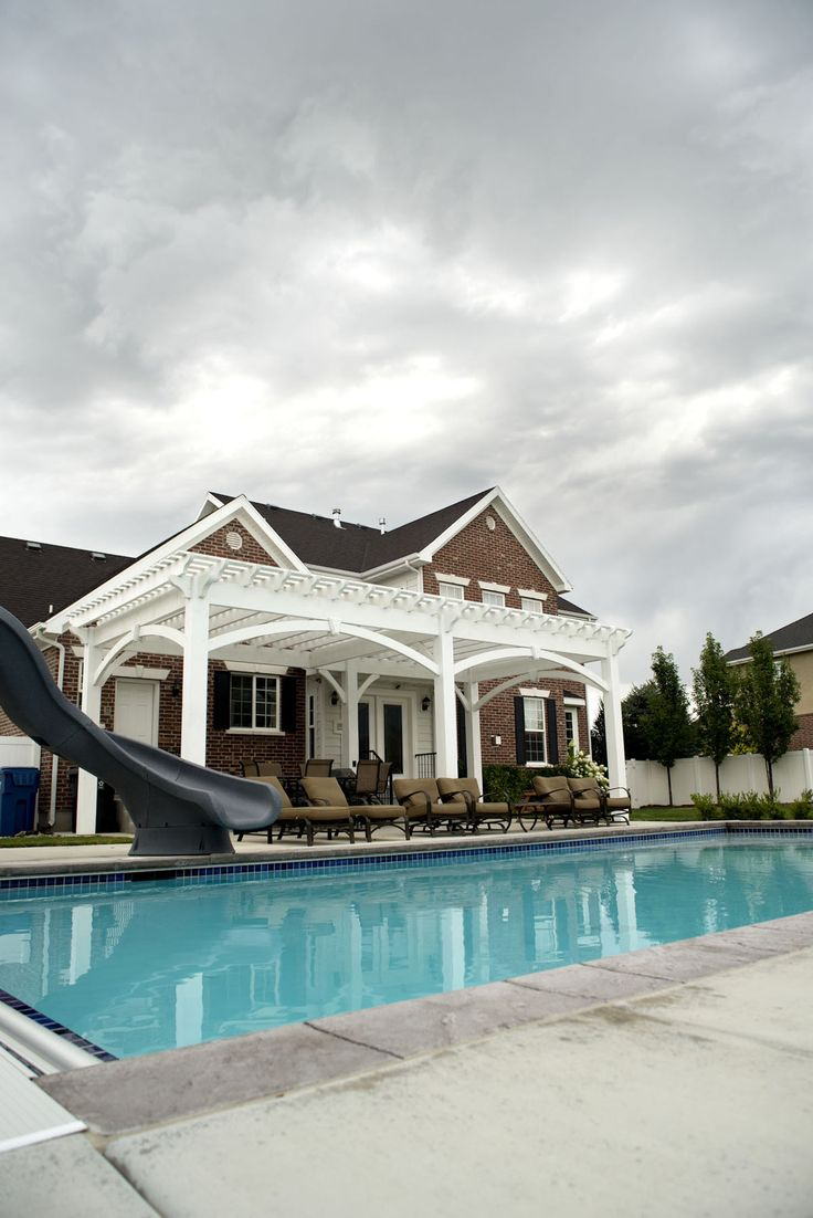148 best Pool Side Pergolas images on Pinterest | Arbors, Pergolas ...