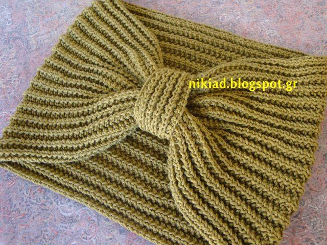 ένα διαφορετικό πλεκτό σάλι /a different knitted shawl