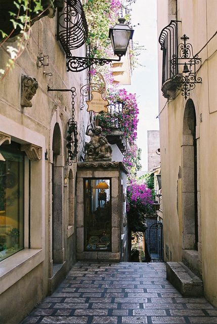 Taormina, Italy - Gorgeous!  ASPEN CREEK TRAVEL - karen@aspencreektravel.com