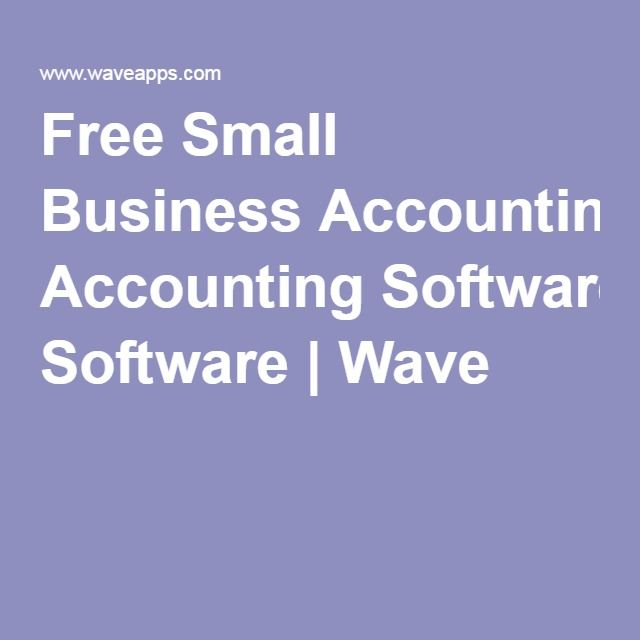 Free Small Business Accounting Software   Wave