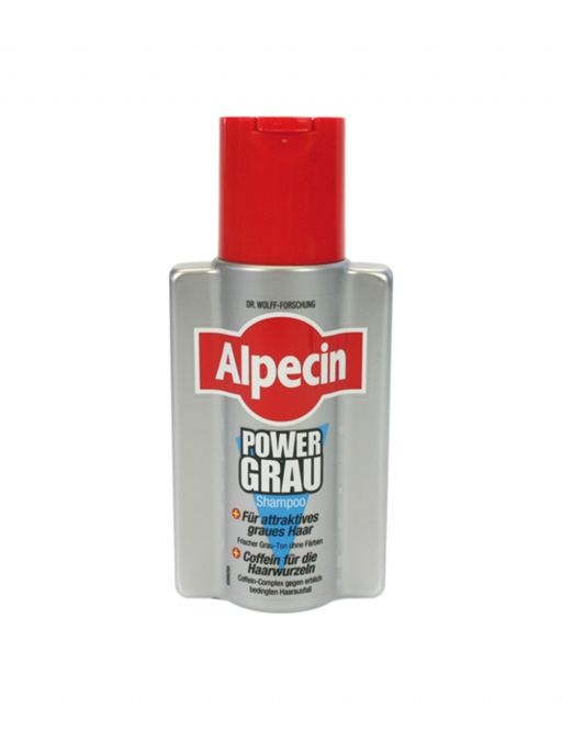 The Alpecin shampoo of power for gray hair 200 ml with its special formula is designed for gray and white hair. Pigments protect the dreaded yellow tinge, a powerful caffeine complex prevents hair loss. #haircare  #cosmetics #hair #alpecin #shampoo #nded www.nded.com