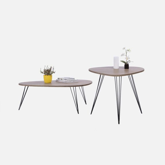 Superbalist Furniture - Retro Side and Coffee Table Set