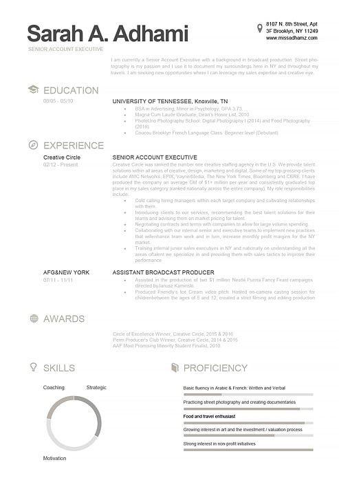 Resume Template 110790 Cvs Creatifs Modern Resume Template
