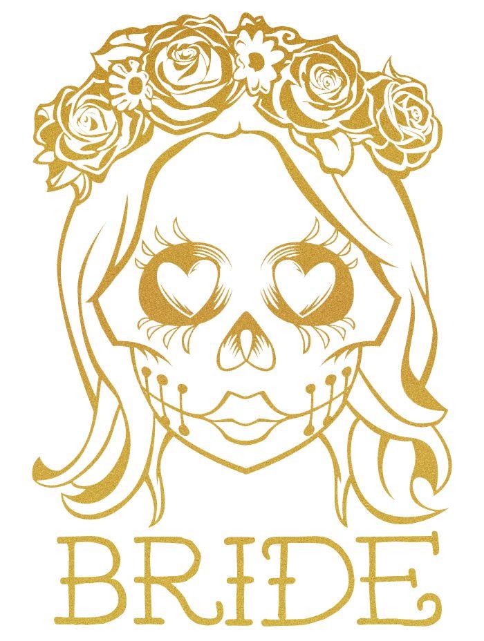 1000 Ideas About Sugar Skull Wedding On Pinterest Skull