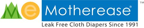 Motherease leak free cloth diapers since 1991 - Sandy's Bamboo Fitted w/Air Flow cover reviews as great night-time solution w/DDL