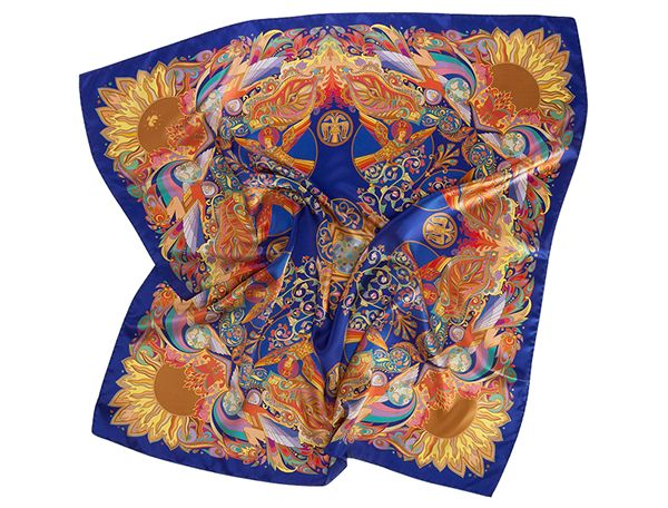 Sirinbird silk scarves 2014
