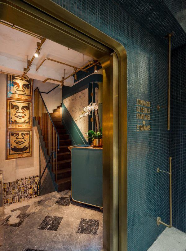 Bibo restaurant in Hong Kong by Substance.
