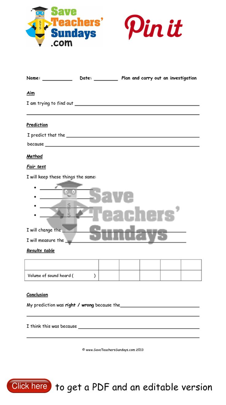 Investigations on Sound lower ability writing frame. Go to http://www.saveteacherssundays.com/science/year-4/372/lesson-6-7-investigations-on-sound/ to download this Investigations on Sound lower ability writing frame. #SaveTeachersSundaysUK