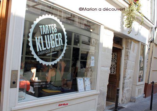 Restaurant Paris : Tarte Kluger, ma découverte d'une super tarterie bio ! » Marion a découvert – Le Blog Cuisine de Marion Flipo