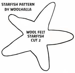 Felt Crafts -How to make Sand Dollars and Starfish