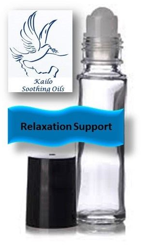 Kailo Soothing Oils for Relaxation Support (KS008) by Dr Barbara Louw, Aquilla Wellness Solutions. More info: www.aquillasa.co.za